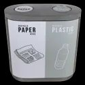 Fiberglass Recycle Color Coded Duo Dustbin, Size:40lx2