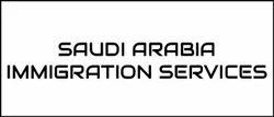 Saudi Arabia Immigration Services