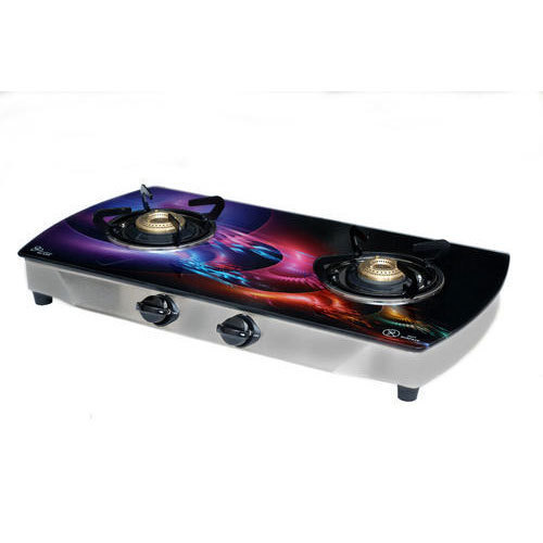 Digital Printed Two Burner Gas Stove