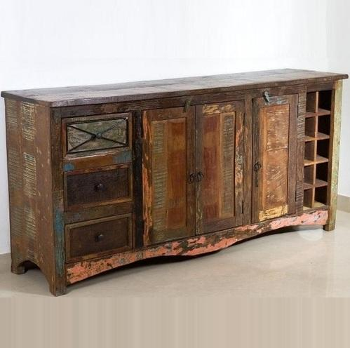 quality design a7b50 86208 Reclaimed Wood Sideboards