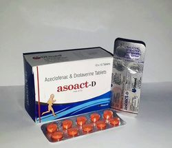 Aceclofenac 100mg Drotaverine 80mg Tablets