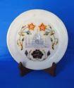 Marble Stone Inlay Taj Mahal Decorative Plates