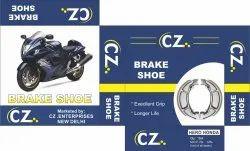 Aluminium Motor Cycle Brake Shoes