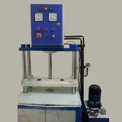 Single Die Hydraulics Paper Plate Making Machine