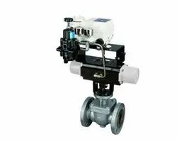 Honeywell V-Notch Segmented Ball Valve