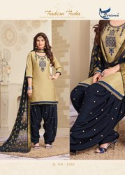 Readymade Print Patiyala Suit