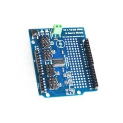 16 Channel 12-bit PWM Servo Drive Shield Board