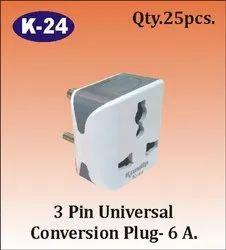 K-24 3 Pin Universal Conversion Plug