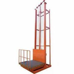 Electro Hydraulic Single Mast Goods Lift