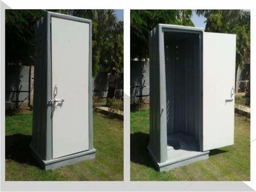 Pvc readymade toilet बना बनाया शौचालय केबिन
