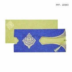 Metallic Insert PRT. 10083 Cosmo Card