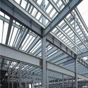 Prefab Industrial Steel Buildings Components Fabrication
