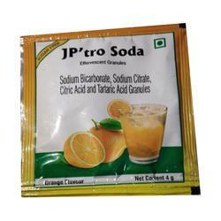 Orange Flavor Soda