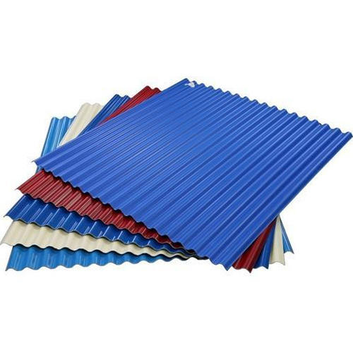Iron Gi Colored Roofing Sheets Rs 78 Kilogram Y P Trading Corporation Id 14932566255