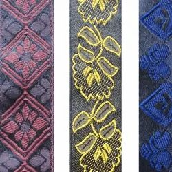 Multicolor Fancy Embroidered Lace