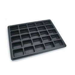 Black Vacuum Formed Tray