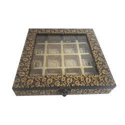 Wooden 16 Partition Chocolate Box