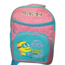Polyester Printed School Kids Bag