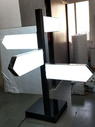Acrylic Direction LED Sign