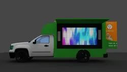 4square promotions HIRE ON LED MOBILE VAN, 2800 Cc, Model Name/Number: Mahindra