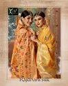 Kessi Rajdhani Silk Blended Cotton Jacquard Banarasi Silk Saree Catalog Collection