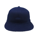 Navy Blue 100% Cotton Twill Fabric Hip Hop Cap, For Casual Wear, Size: 52-58 Cm