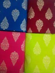 Printed Designer Rayon Kurti Fabric