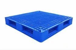 BULWARK Rectangular Blue Plastic Pallet, Size: 1000x1200