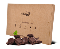 Piece, Bar Probites Probiotic Dark Chocolate