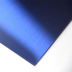 Blue Stainless Steel Sheet