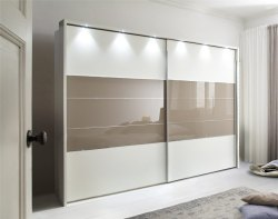 Glossy Sliding Glass Door, For Home