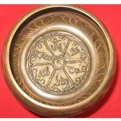 Tibetan Mantra Carving Bowl