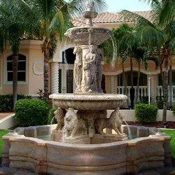 Decorative Marble Fountain