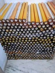 Plain Plastic Gold Silver Table Roll, Gsm: Empty, Size: 30 Inch