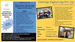 Advanced Process Engineering Design with Aspen HYSYS, EDR, Flare SYSTEM ANALYZER & HYSYS DYNAMICS