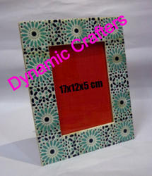 Dynamic Crafters Bone Printed Picture Frame