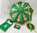 Kasiyatra Decorated Wedding Umbrella Set