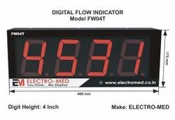 Flow Monitor Jumbo With Totalizer 4 Inch