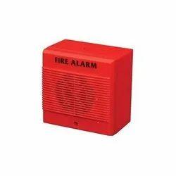Plastic Addressable Agni Fire Alarm Sounder, For Apartments