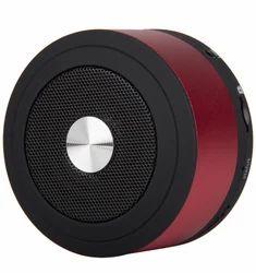 IZY Red Cylinder Bluetooth Speaker, 3w