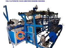 Fully Automatic - Chain Link Fence Making Machine
