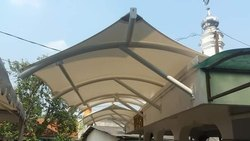 PVC Tensile Roof Structure