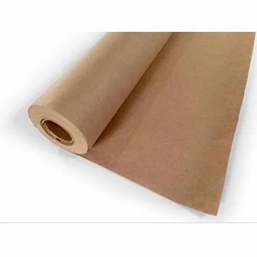 9607e10a077 Brown Plain Kraft Paper Roll