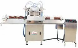 Automatic Hand Sanitier Liquid Filling Machine