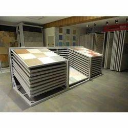 Horizontal Tile Display Stand