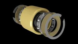 KP Airframe Control Ball Bearings: Single and Double Row