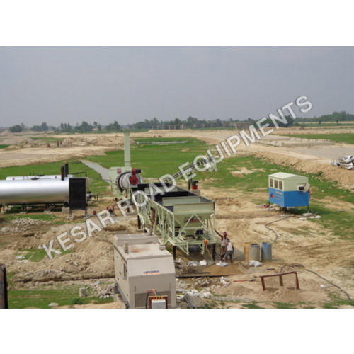 Hot Mix Plant, Capacity: 40 To 120 Tons/Hour