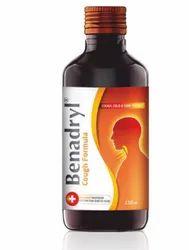 Benadryl Cough Formula Syrup