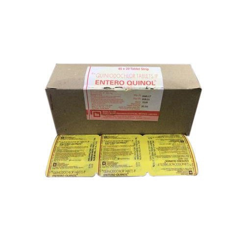 Entero Quinol Enteroquinol Tablet, Packaging Type: Box, Rs 24.4 /strip |  ID: 17371869155