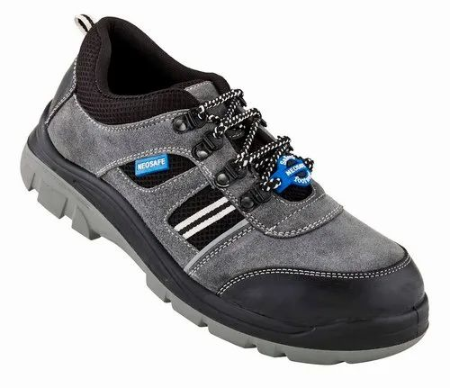 Neosafe Runx Sued Leather safety shoes